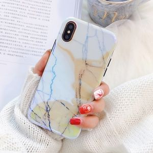 NEW iPhone X/78+ Shining Marble Phone case